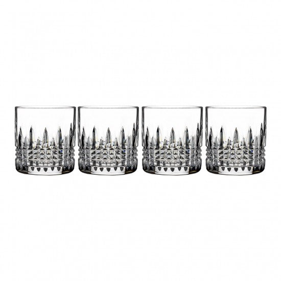 Lismore Connoisseur Diamond 7oz Straight Sided Tumbler, Set of 4