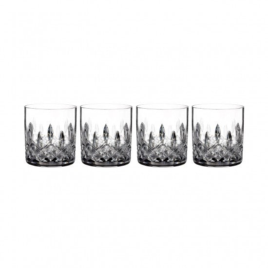 Lismore Connoisseur 5oz Straight Sided Tumbler, Set of 4
