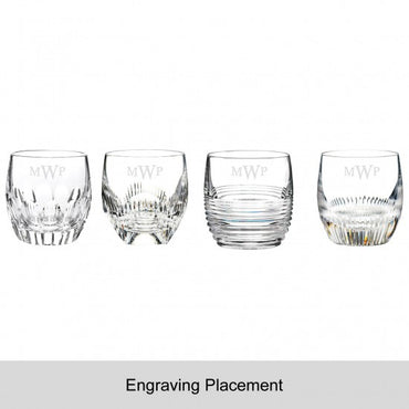 Mixology Assorted Clear Tumbler, Set of 4