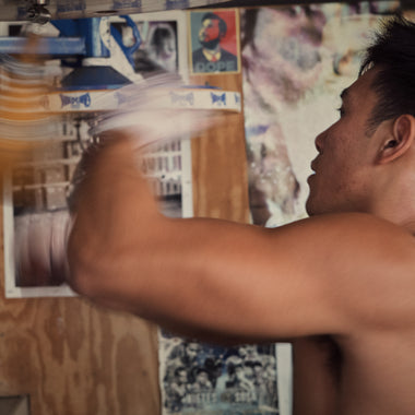 Julian Chua, professional boxing coach at Freddie Roach's legendary Wild Card Boxing Club.