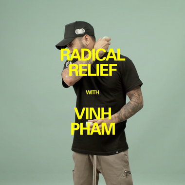 Vinh Pham uses the Radical Relief Gel Roll On
