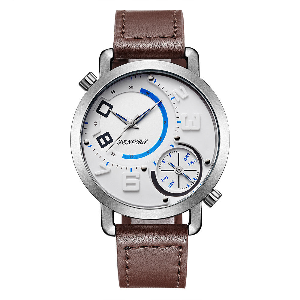 Men's Double Dial Watch