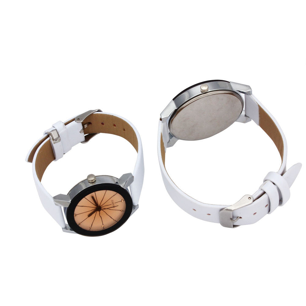 1 Pair Men & Women Quartz Watches