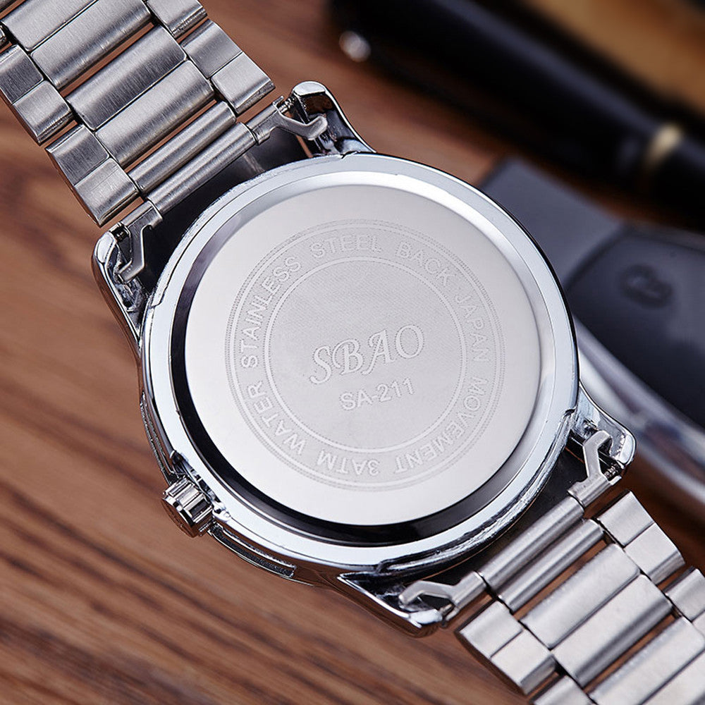 Men's Circular Watch
