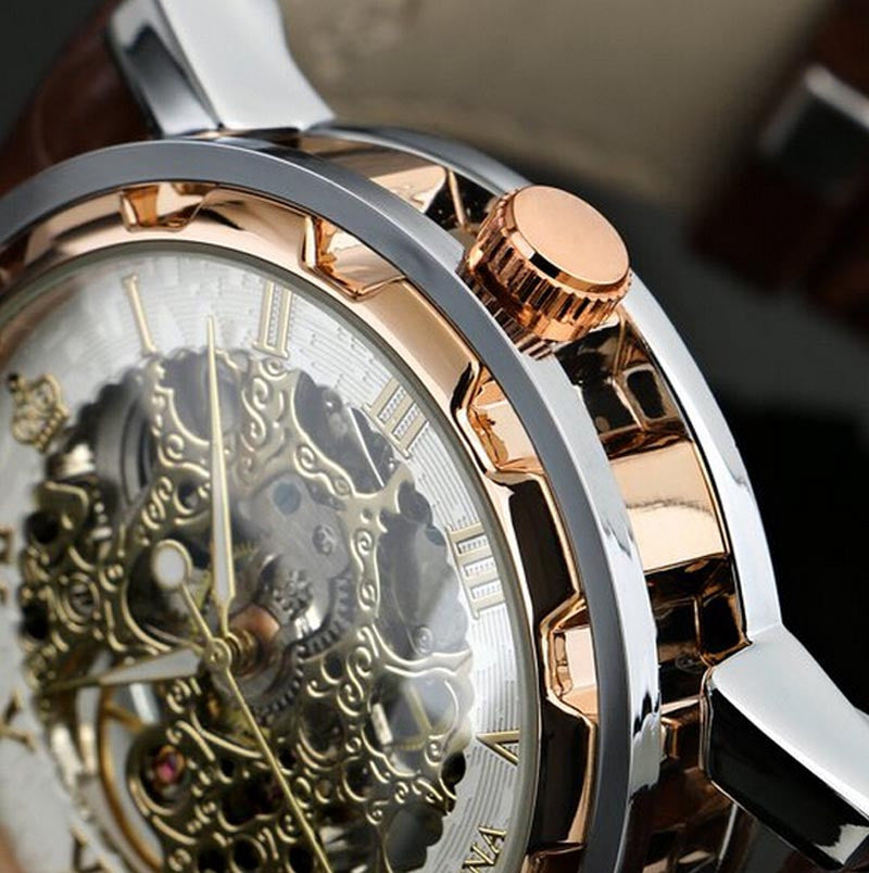 Luxury Men's Mechanical Wrist Watch