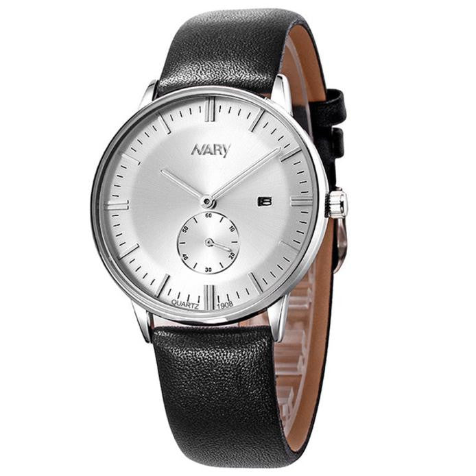 Luxury Men Quartz Watch w/Calendar