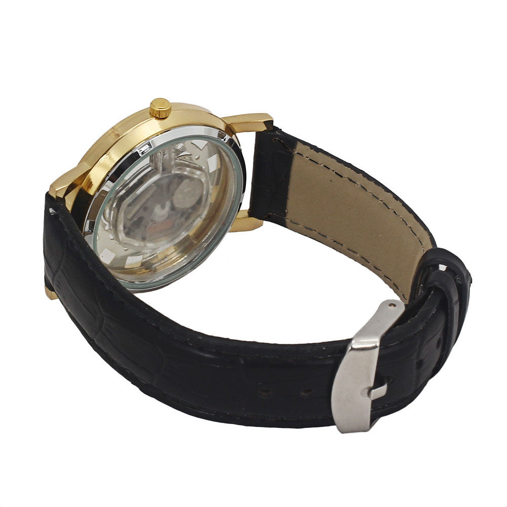 Hollow-out Quartz Watch