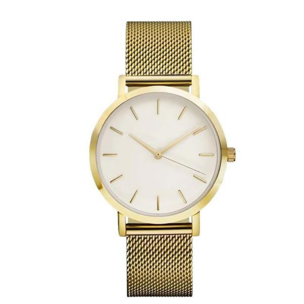 Classic Women's & Men's Wrist Watch