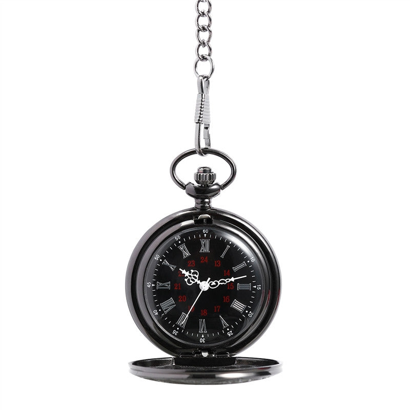 Delicate Roman Retro Pocket Watch