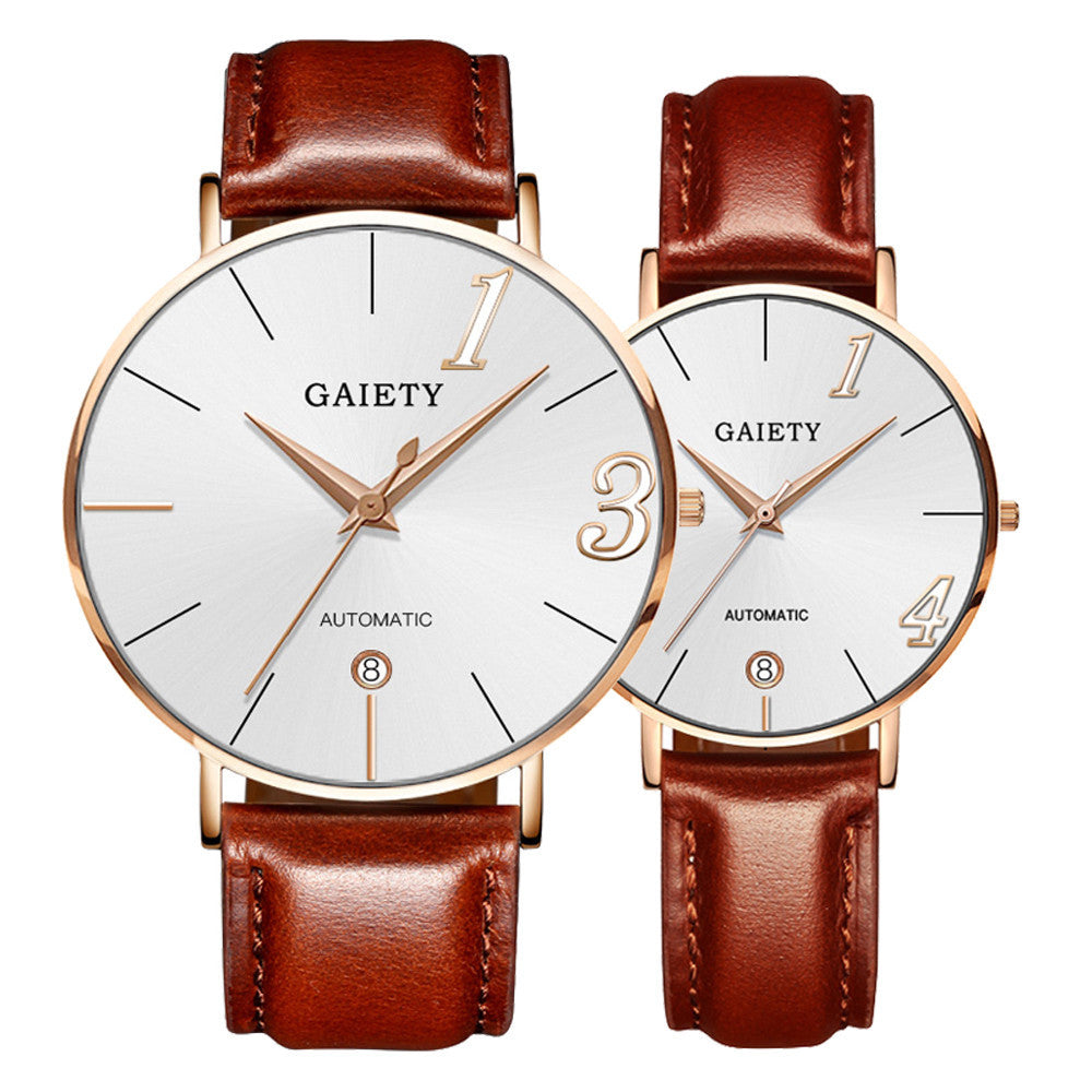 Fashion Couple Quartz Watches