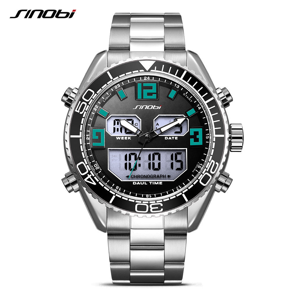Luxury Dual Display Men's Watches