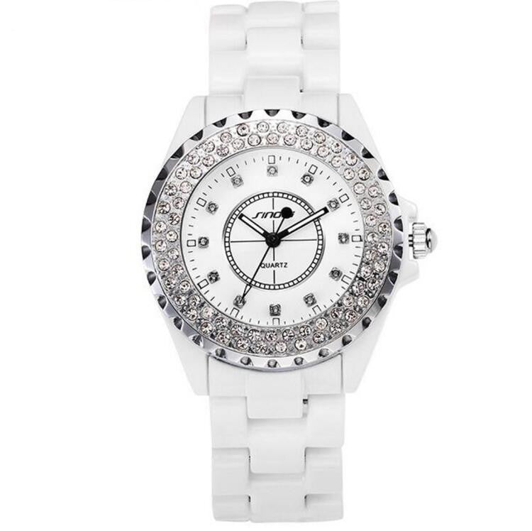 Luxury All Steel Diamond Watch