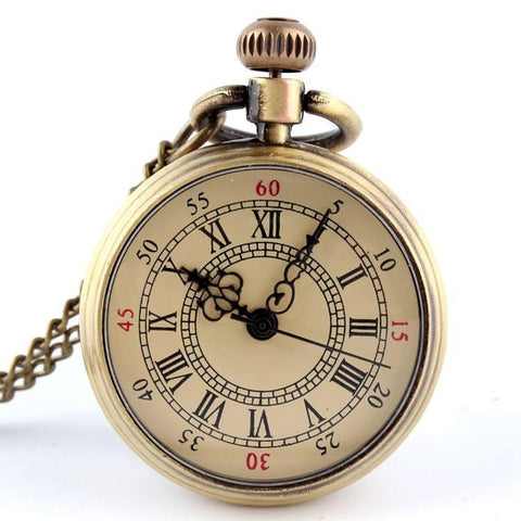 Antique Roman Numerals Pocket Watch