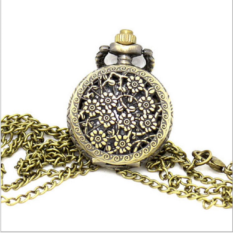Retro Men's Necklace Pendant Watch
