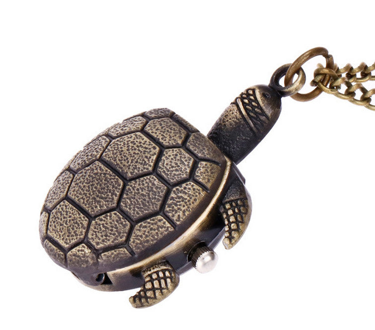 Bronze Turtle Pocket Watch