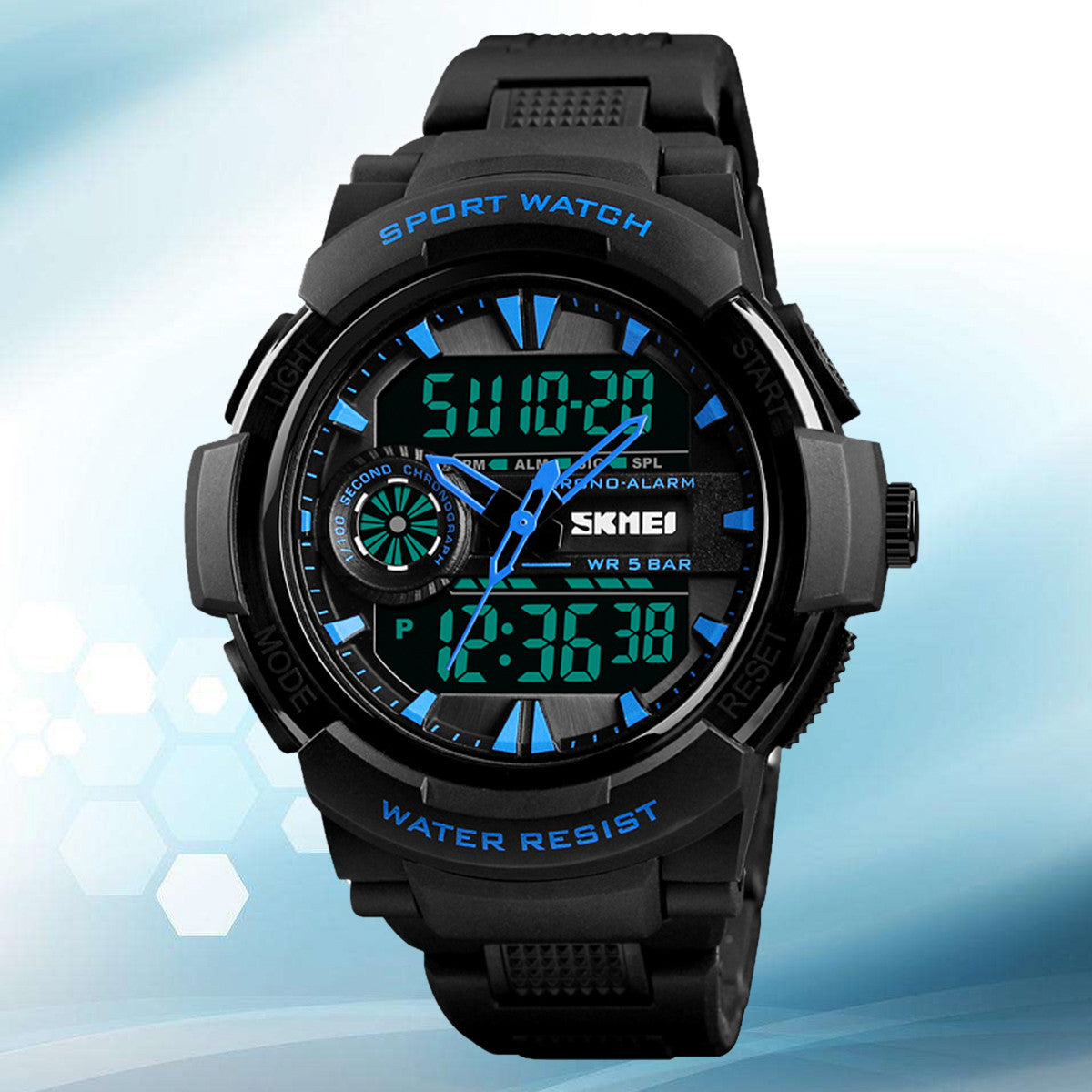Waterproof Digital Wristwatches