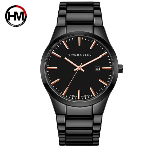 Men's Steel Waterproof Watch