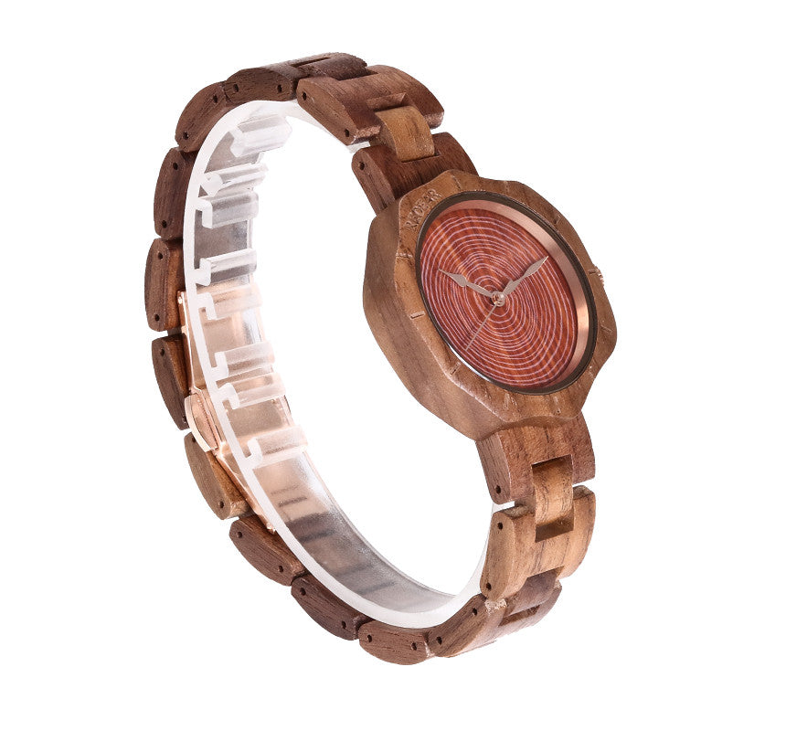 Brand Walnut Wooden Watch