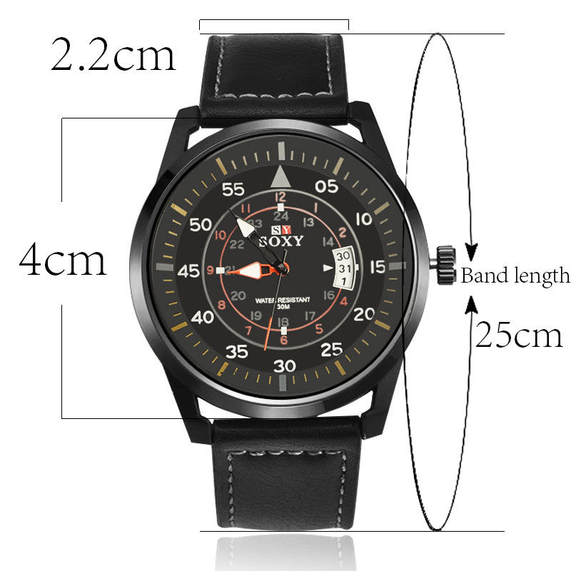 Sports Men Quartz Watch