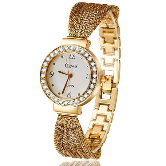 Fancy Gold Plated Watch