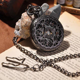 Black Cage Full Hunter Pocket Watch