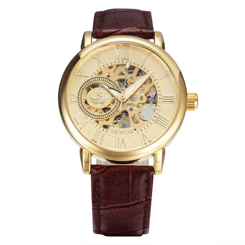 Semi-automatic Mechanical Wrist Watch