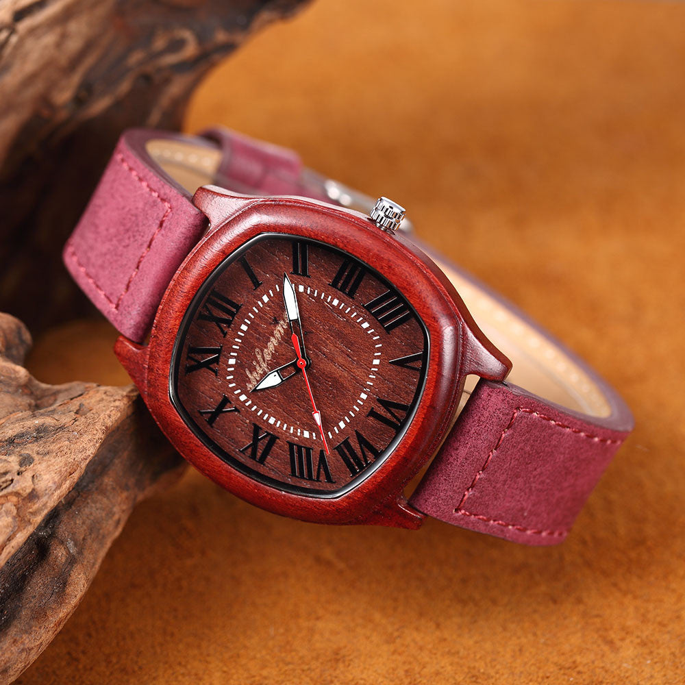 Men's & Women's Wood Quartz Watch