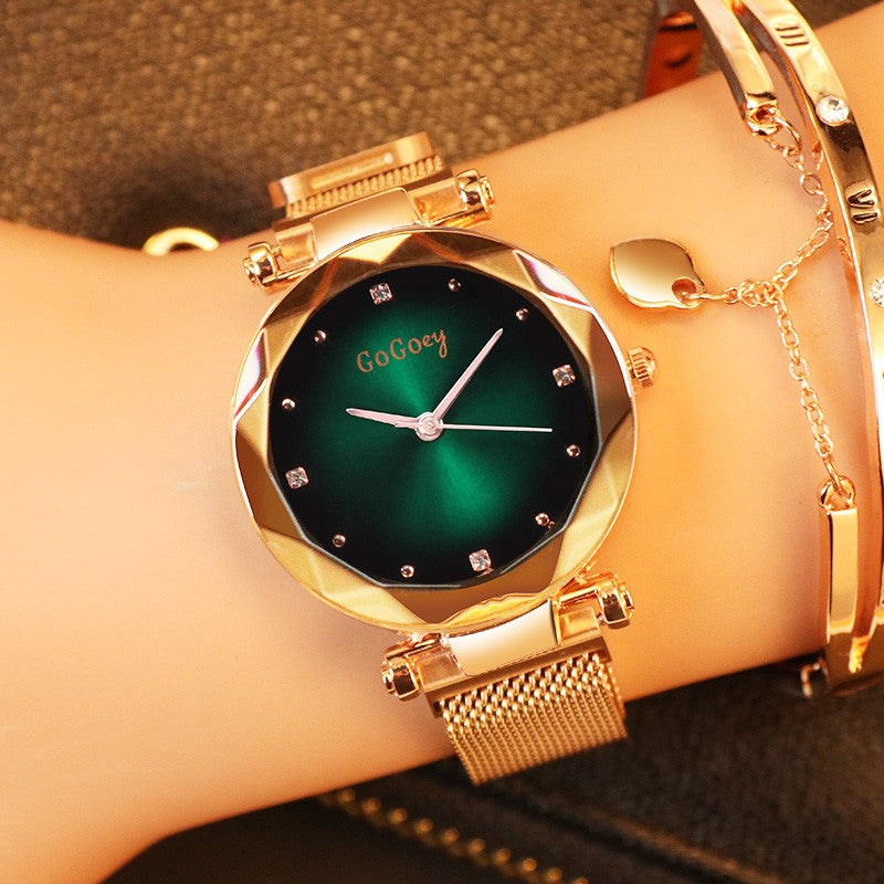 Women Watch with Magnet Strap