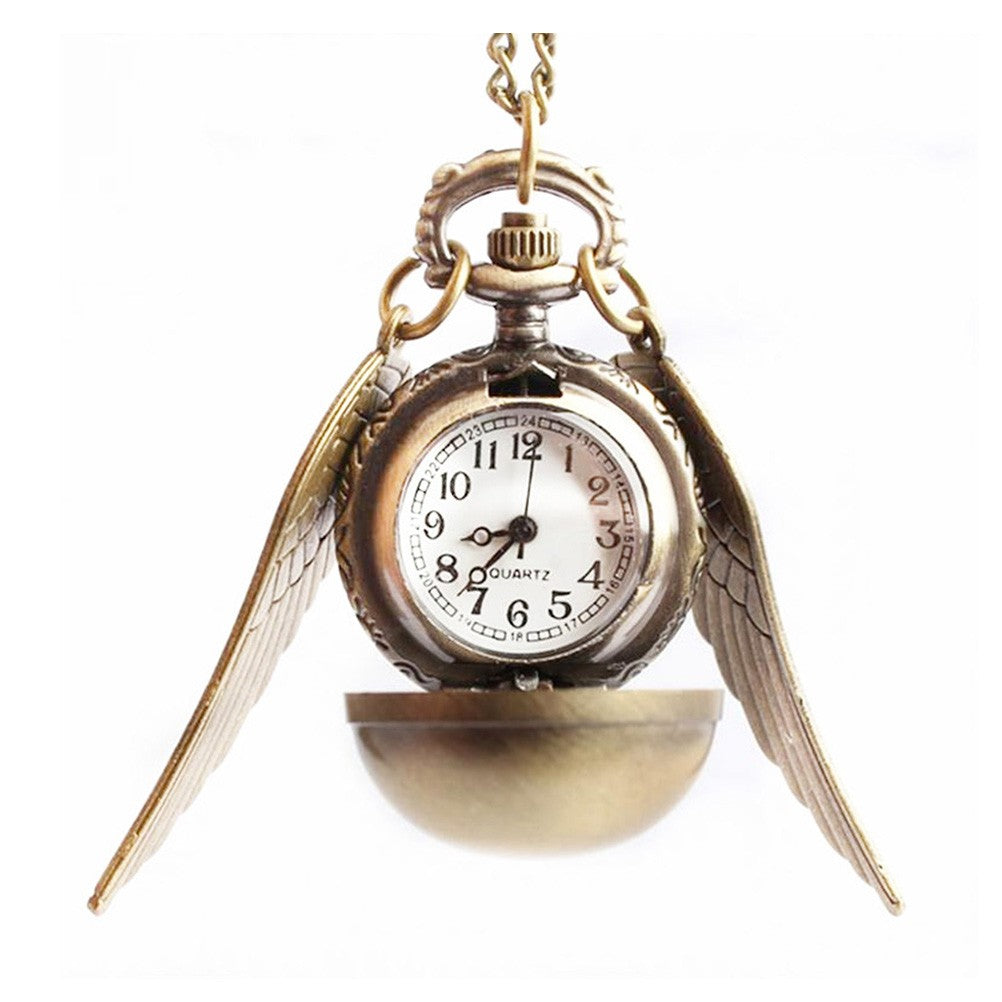 Angel's Wings Pocket Watch