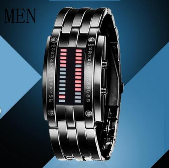 Fashion LED Couple Lover's Watch