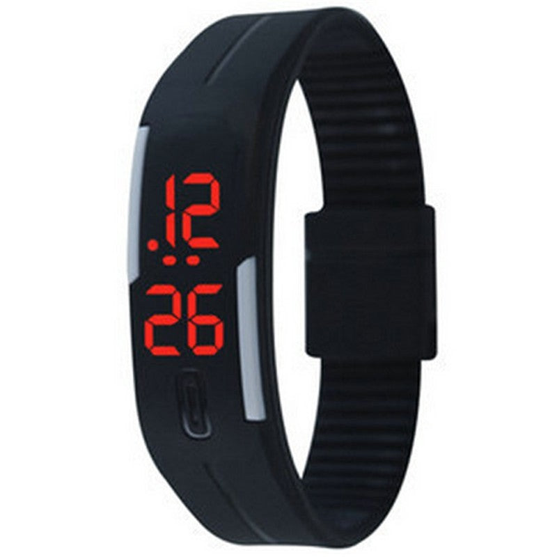 LED Bracelet Silicone Unisex Watch