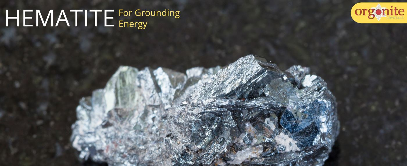 Hematite for Grounding Energy