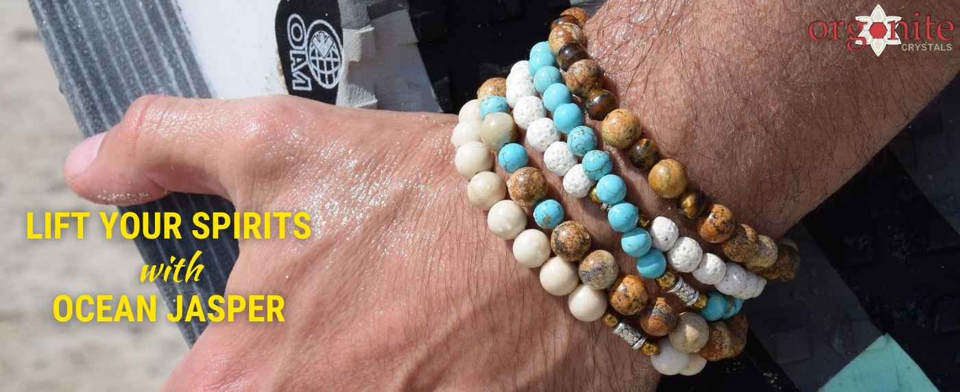 Lift your Spirits with Ocean Jasper