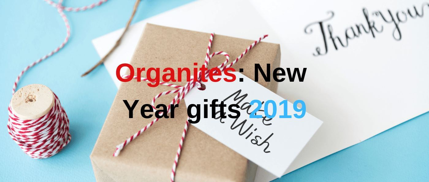 Organites: New Year gifts 2019