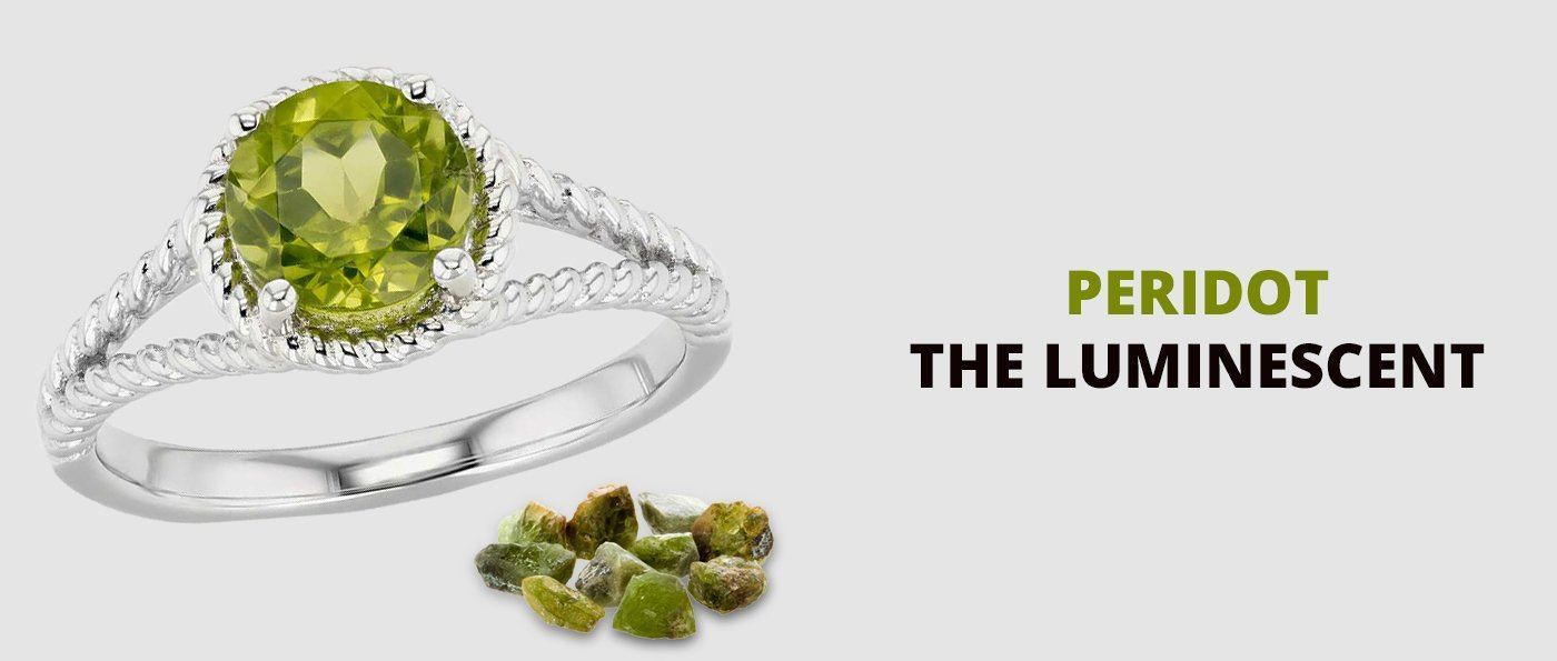 Peridot – the luminescent