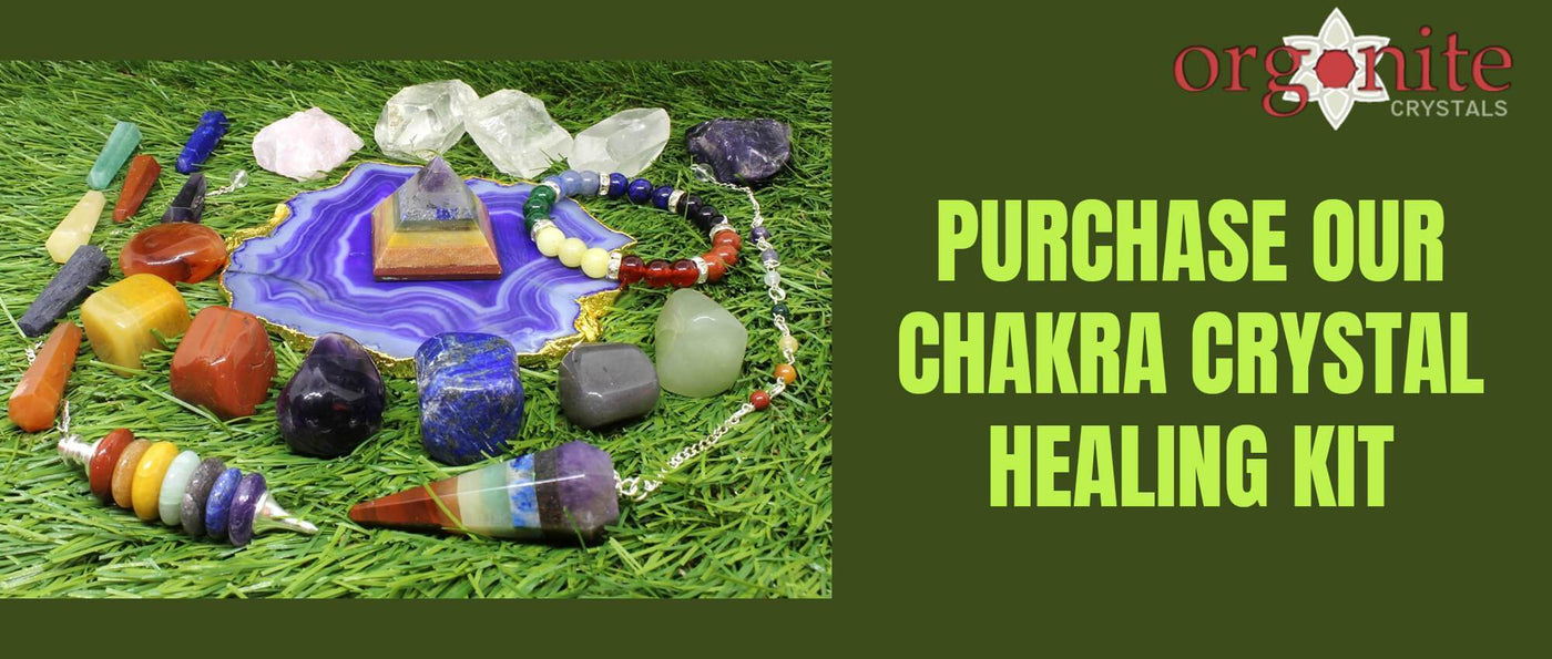 Purchase our Chakra Crystal Healing Kit