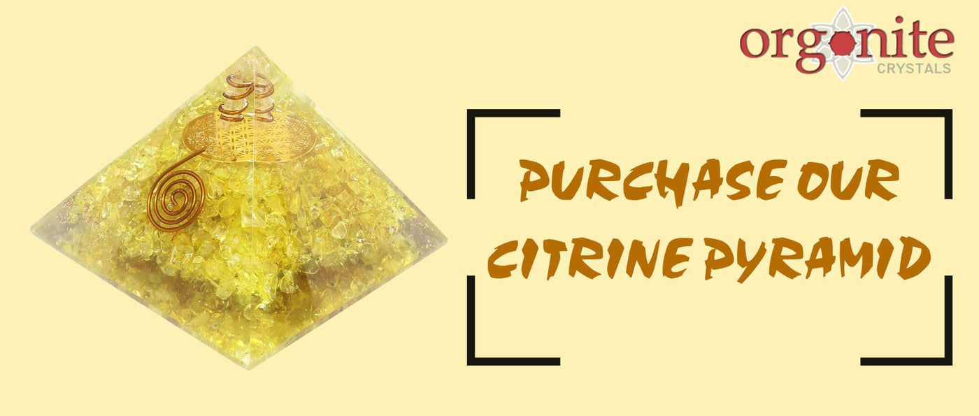 Purchase our Citrine Pyramid