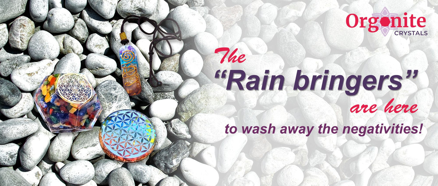 "The ""Rain bringers"" are here to wash away the negativities!"