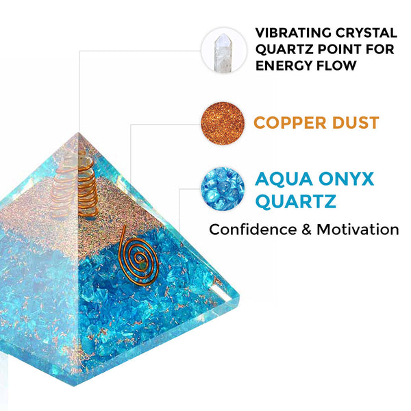 Orgone Yin Protection Pyramid