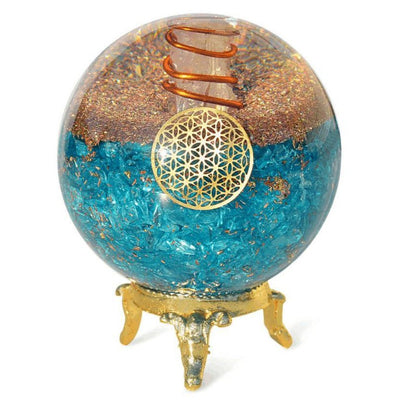 Aquamarine Orgone Ball