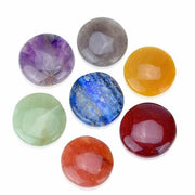 Crystals and Healing Stones Chakra Disc Set - Orgonite Crystal