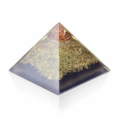 Emf Protection Orgone Pyramid - Orgonite Crystal