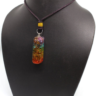 Orgone Enegry Generator Chakra Pipe Necklace