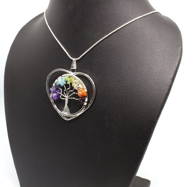 Agate Tree Of Life Jewelry Necklace
