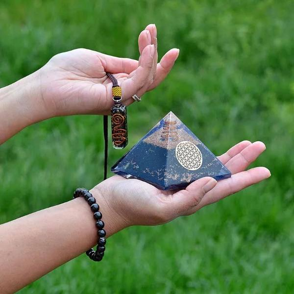Orgone Black Tourmaline Healing Crystals Bundle ( Exclusive) - Orgonite Crystal