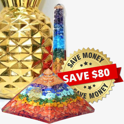Orgone 7 Chakra Exclusie Bundle - Orgonite Crystal