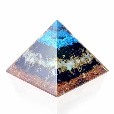 Ultimate Protection Orgone Pyramid - Orgonite Crystal