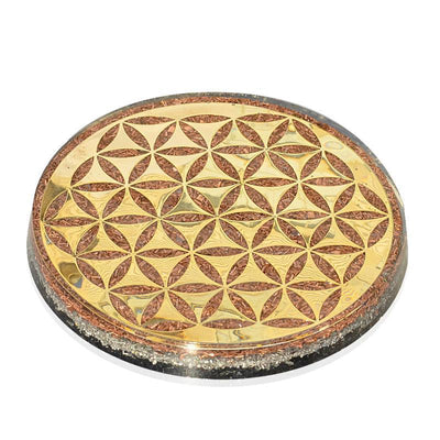 Master Healer Water Charging Plate - Orgonite Crystal