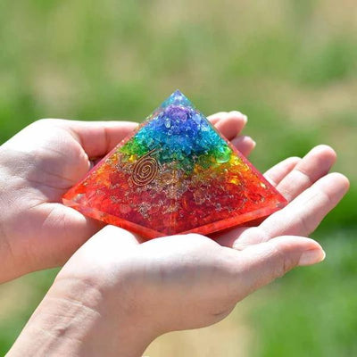 Energy Generator Orgone Pyramid - Orgonite Crystal