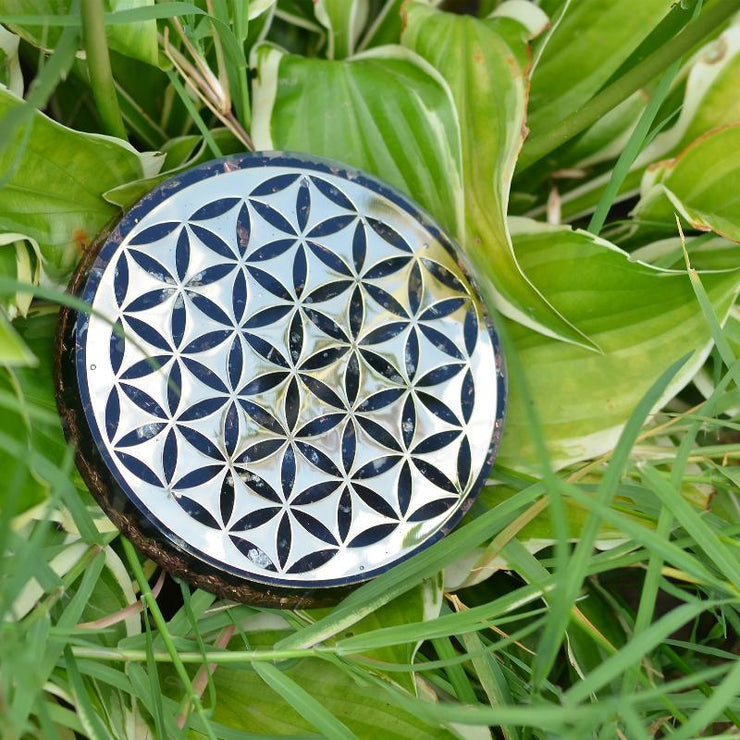 Emf Protection Orgone Coaster - Orgonite Crystal